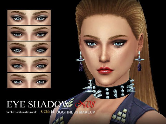 Sims 4 CC's - The Best: Eyeshadows by S-Club