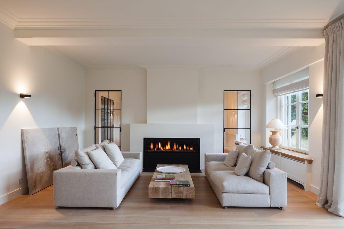 Renovatie van een Frans klassieke villa in Oud-Heverlee