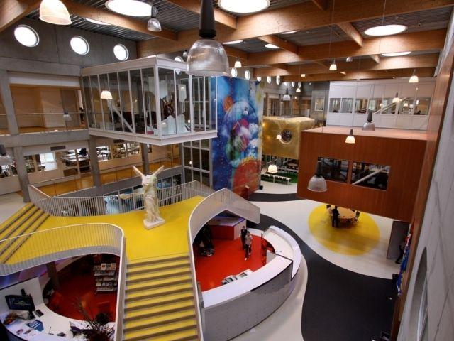 School Design Educational Spaces Niekee Roermond School Architecture Do It Yourself