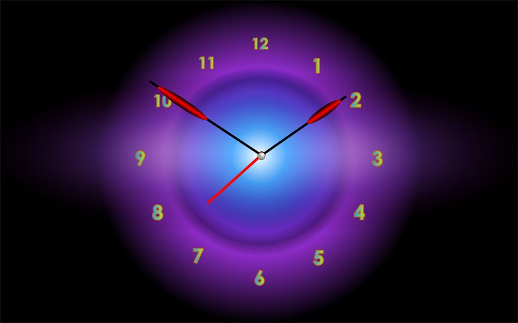 Windows 7 live wallpaper clock
