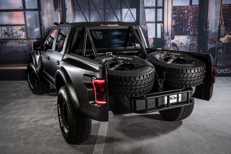 Thanks to a custom K&N intake, this 2017 Ford Raptor ...