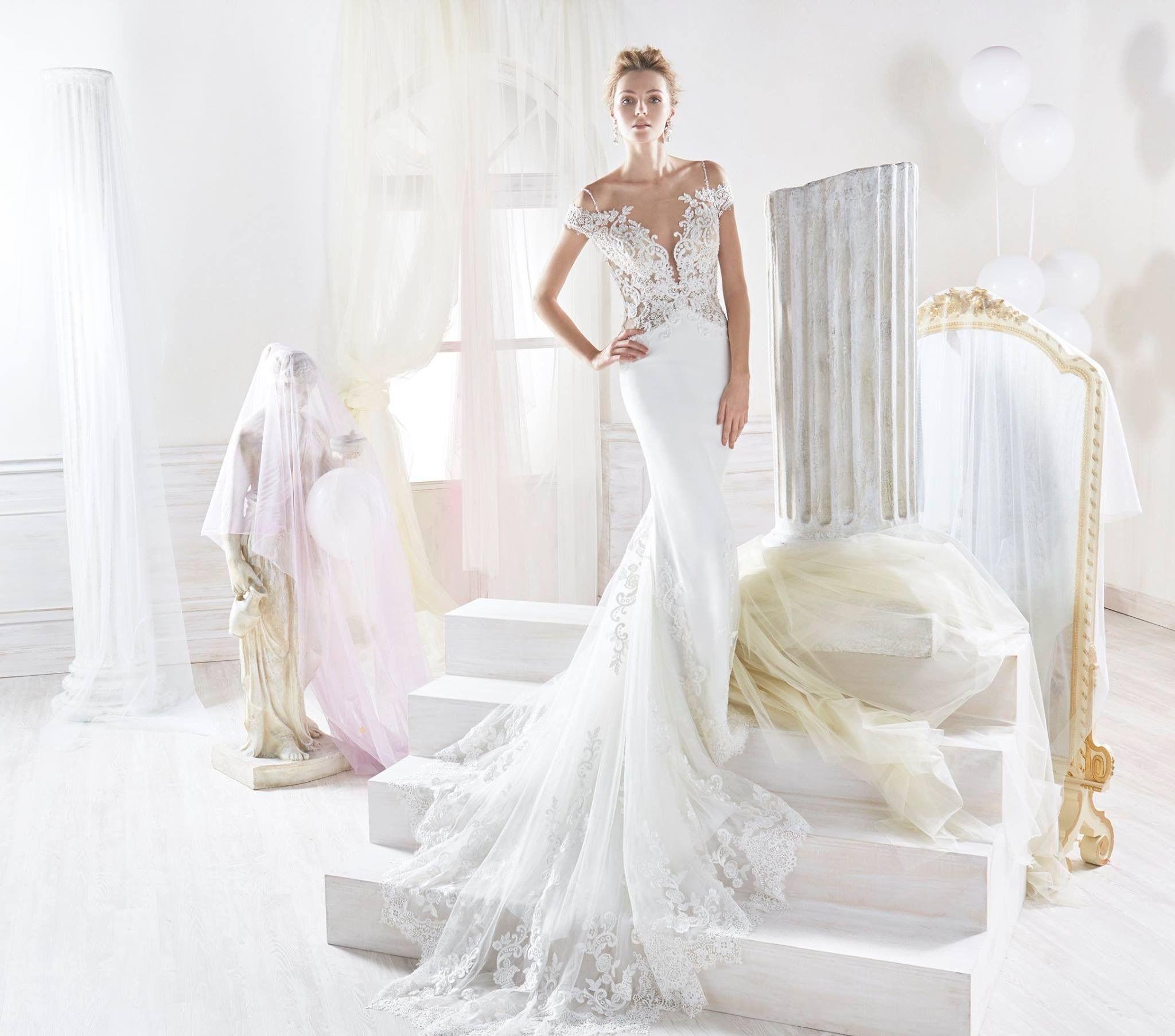 Nicole wedding dress mermaid wedding dresses pinterest
