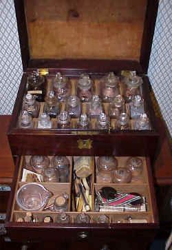 Civil War apothecary case