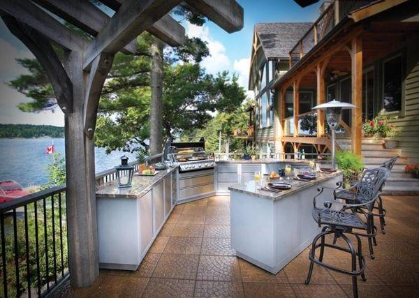 Diseño de cocina al aire libre | Ideas para decorar, diseñar y ...