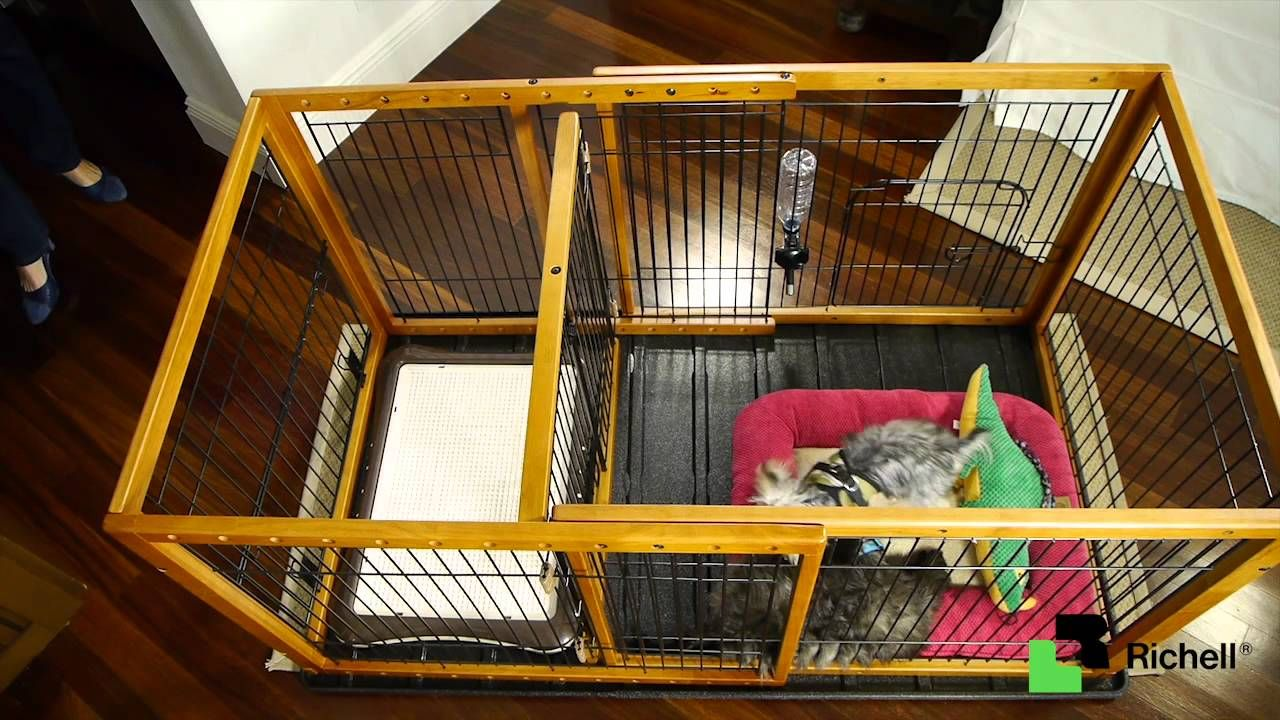 Discontinued Richell Expandable Pet Pen W Floor Tray Puppy Playpen Dog Playpen Animal Pen