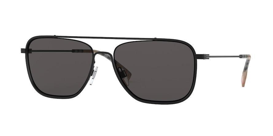 Burberry BE3112 Lunettes de soleil carrées – 59-16-145 / 100787-MATTE BLACK   – Products
