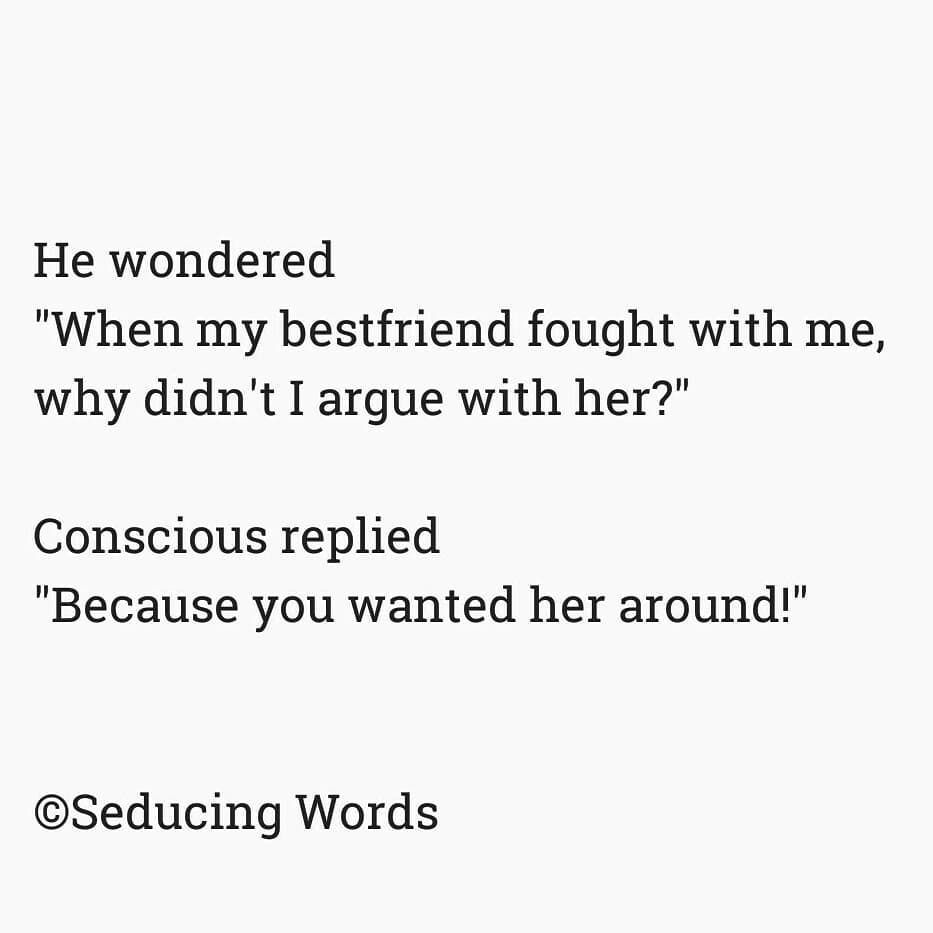 Seducing words