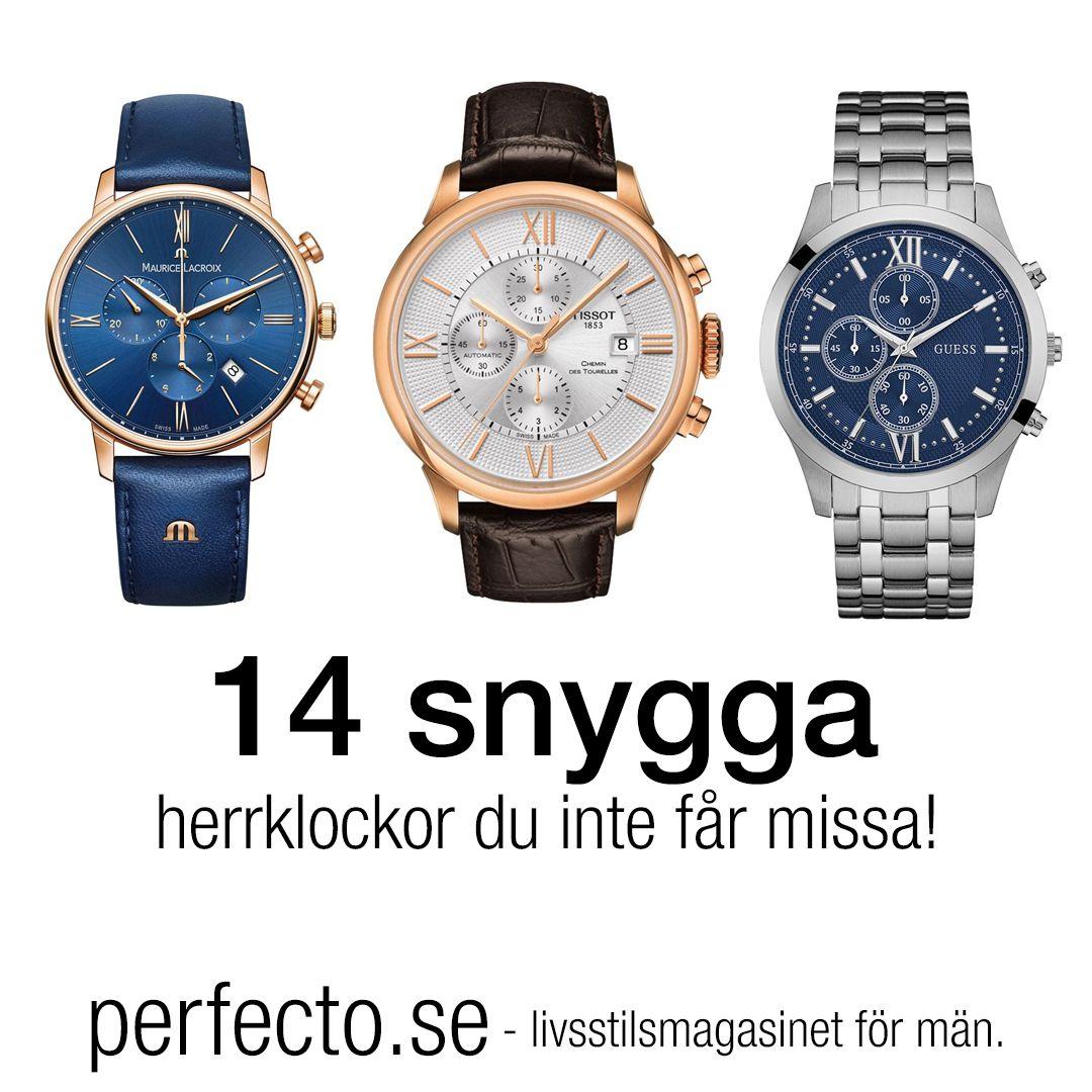 snygga klockor för män