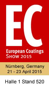 European Coatings Show 2015 plus Adhesives, Sealants, Construction Chemicals