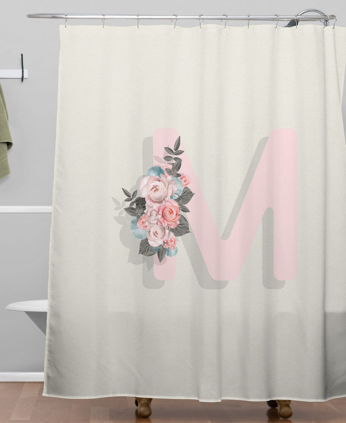 Deny Designs Iveta Abolina Pivoine M Shower Curtain Reviews Shower Curtains Bed Bath Macy S Design Baby Clothes Shops Curtains