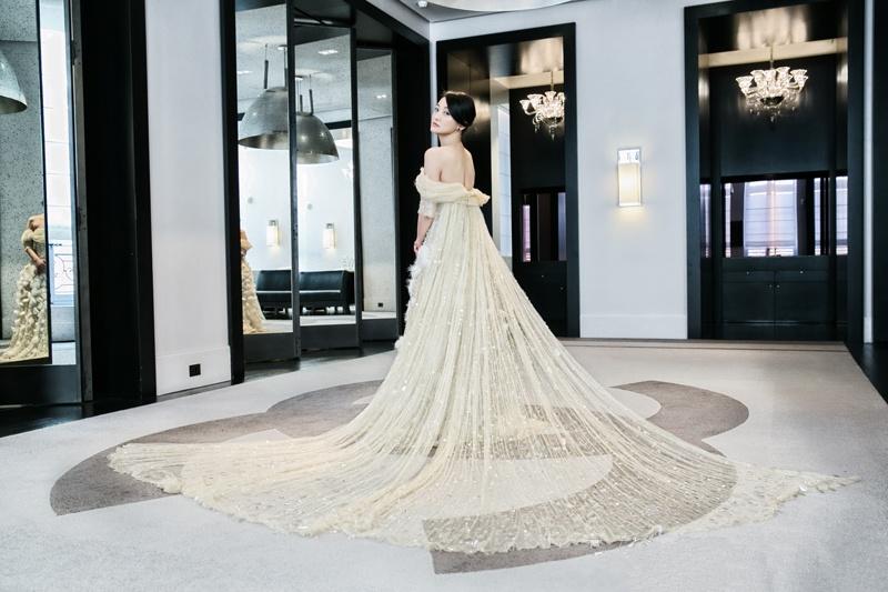 Zhou Xun in Chanel Couture