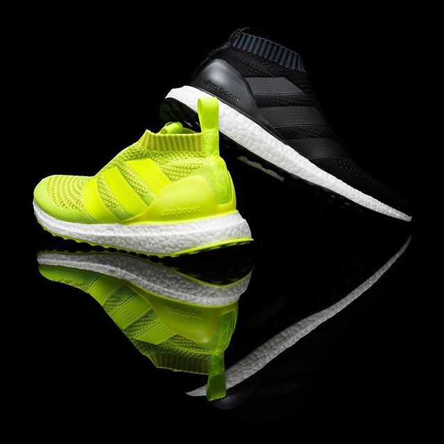 06bf273ca8d03 adidas ACE 16+ PureControl Ultra Boost -- The lime neon green color is .