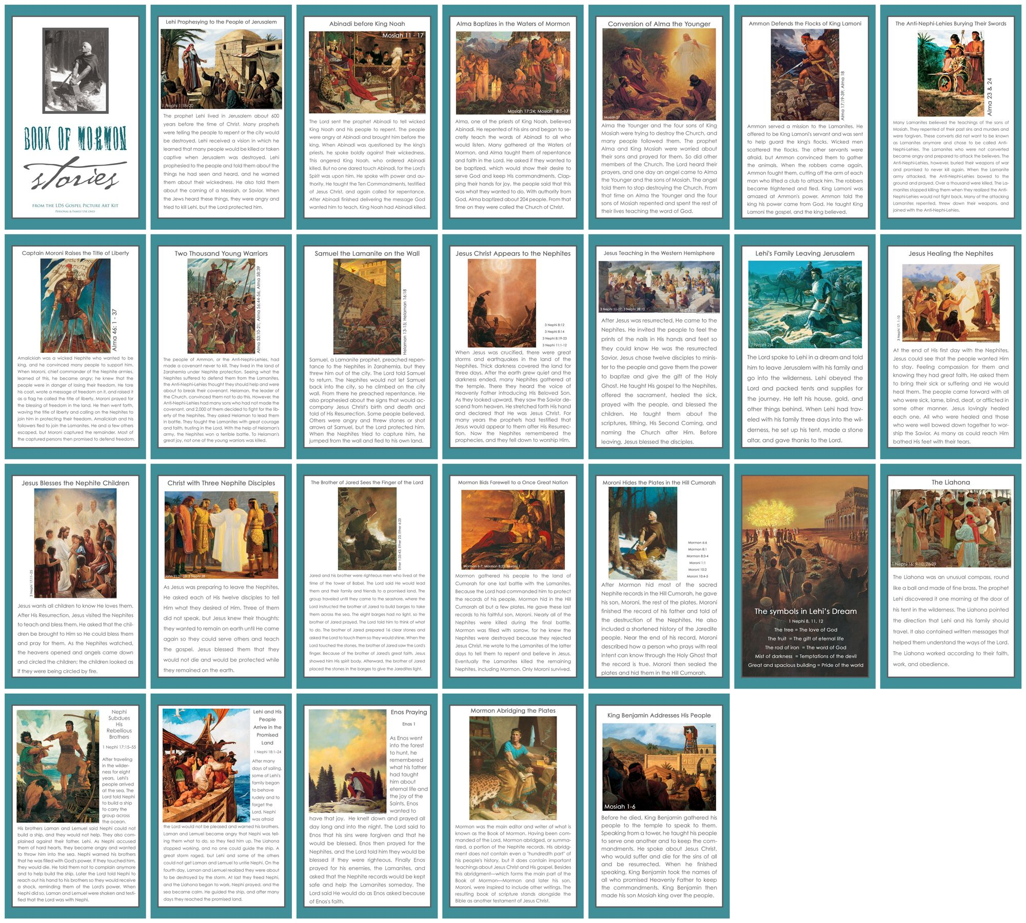 40+ Book of mormon stories remix ideas