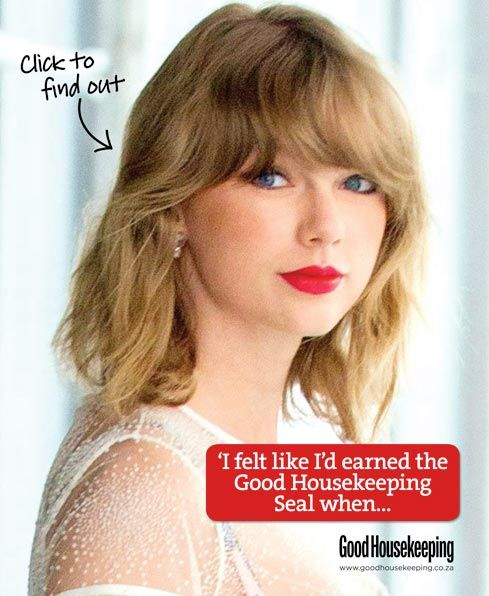 GH SEAL: Taylor Swift's Good Housekeeping Seal moment