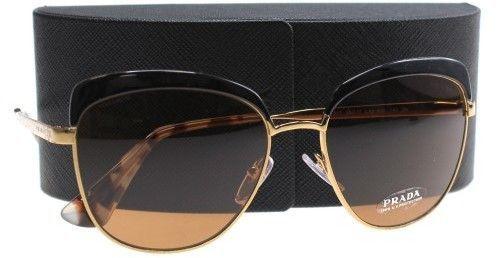 3d293a0d4a Prada Sunglasses PR 51TS LAX6N0 ANTIQUE GOLD BLACK