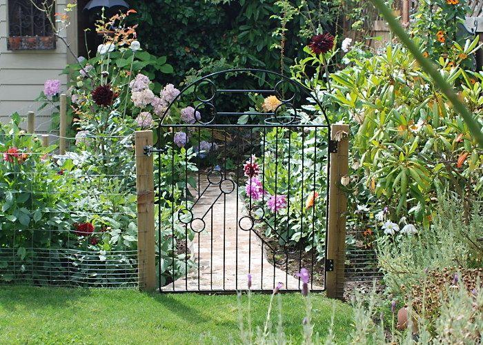 garden gate | garden gate design on Garden Gate Trellis Powder Coat ...