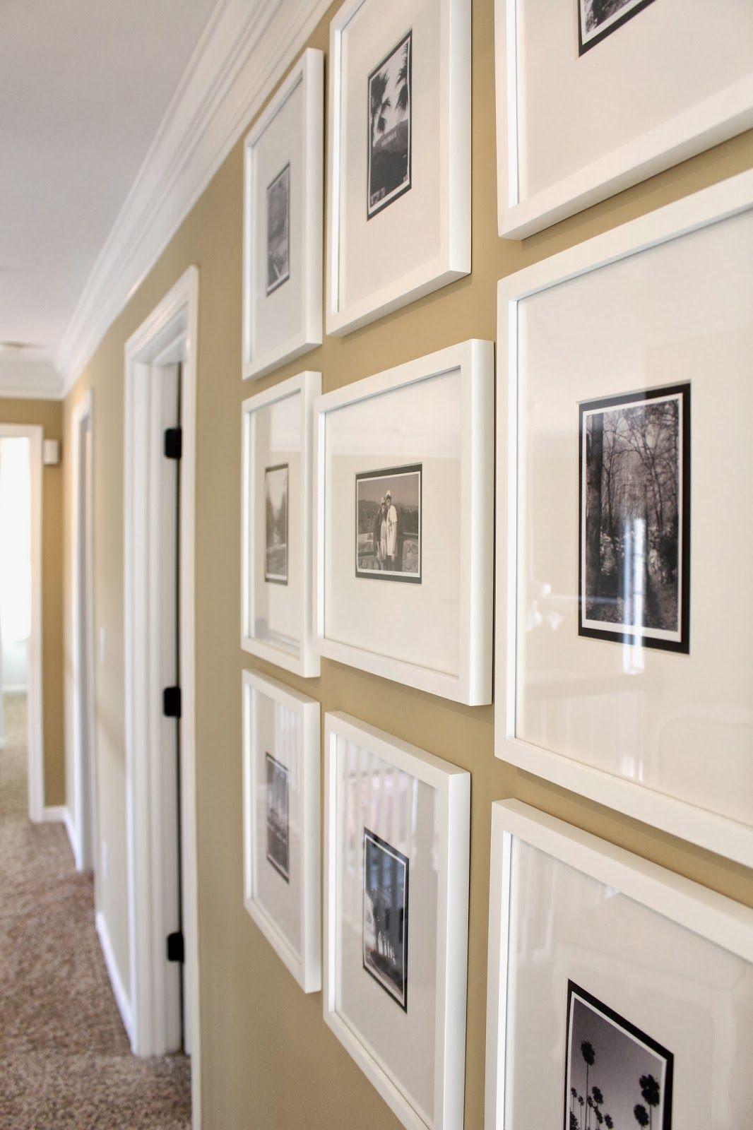 Creating My Gallery Frame Hallway... & a few decor updates ...
