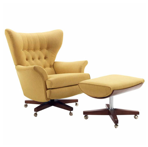 Merveilleux G Plan Vintage The Sixty Two Fabric Swivel Chair