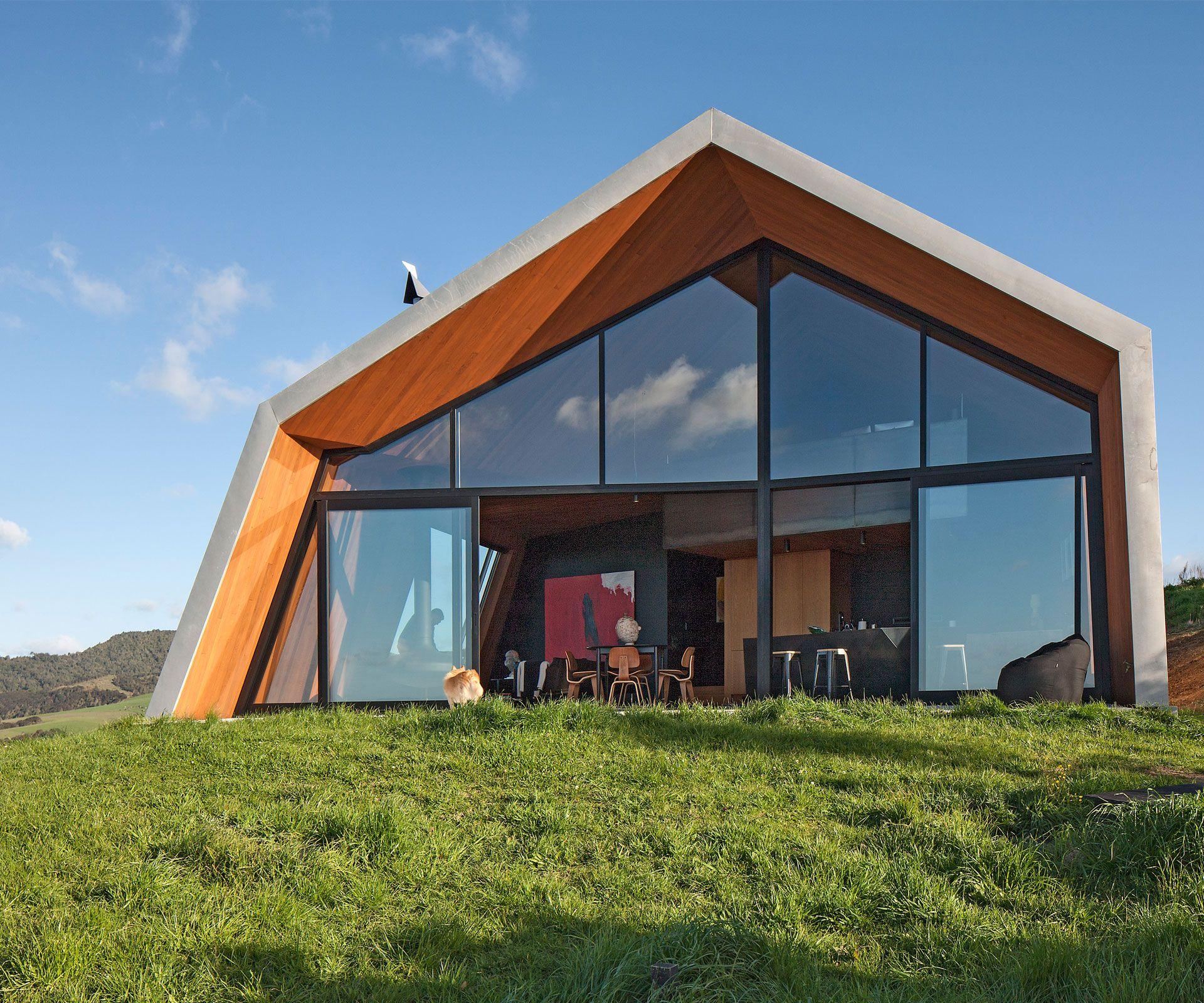 The Crossing Pakiri New Zealand designed by architect Paul