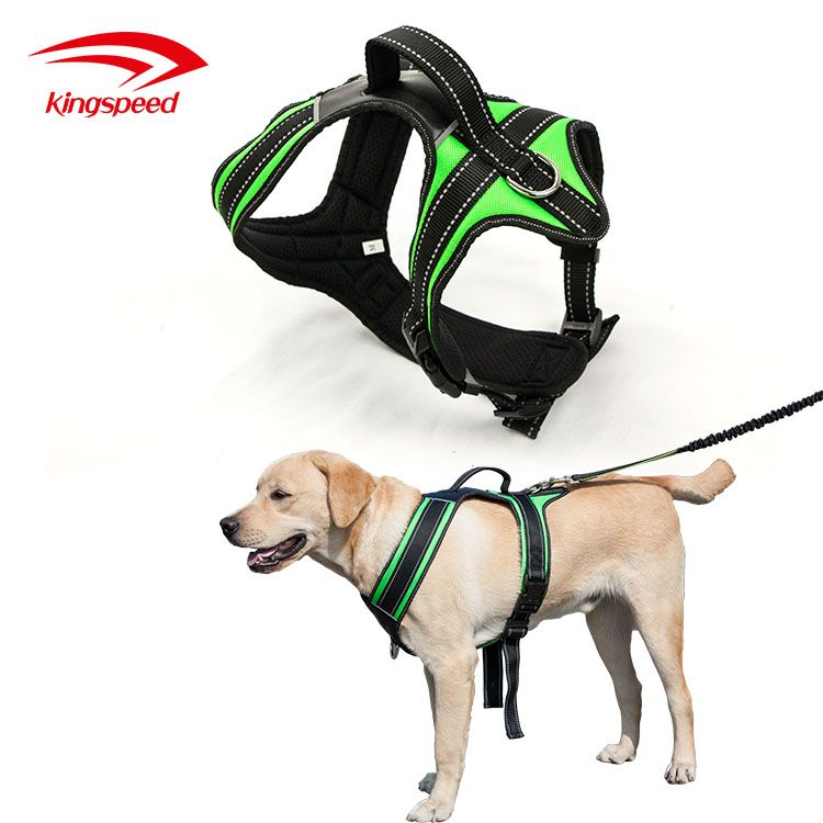 No Pull Dog Harness Outdoor Adventure Reflective Pet Vest With