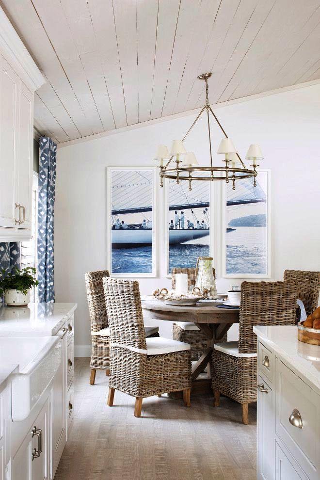 Coastal Cottage Garden Beach Cottage Powder Rooms