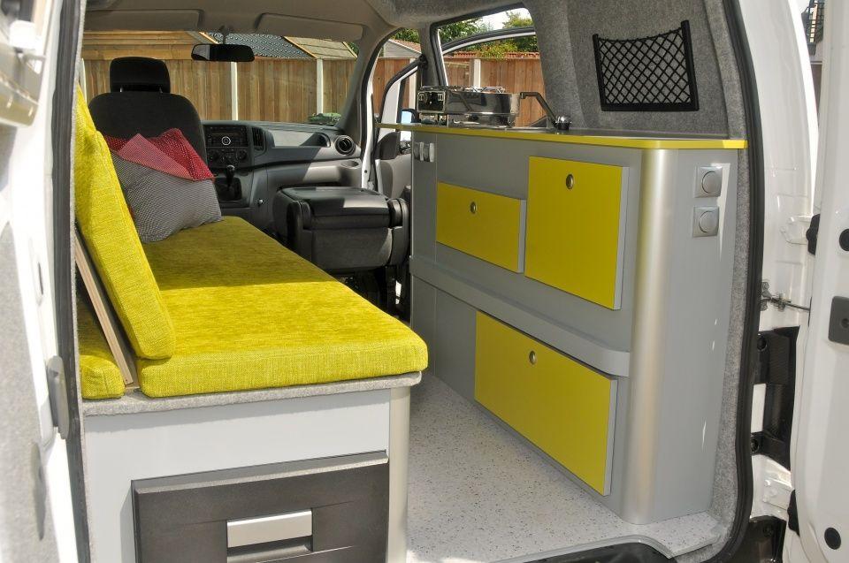 nissan nv200 camper van conversions pinterest. Black Bedroom Furniture Sets. Home Design Ideas