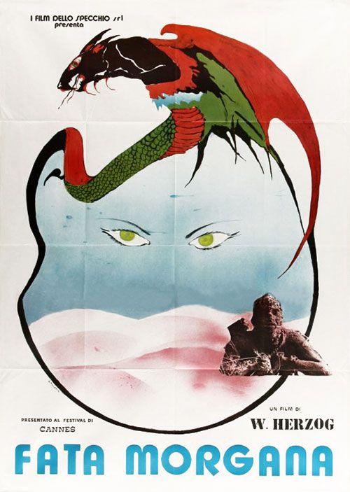 Werner Herzog's Fata Morgana | Fata morgana, Poster prints, Original movie  posters