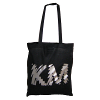 KM Designer Black Tote - Detailed item view - K Hull Ltd Art Cards Gifts and more...£11.99