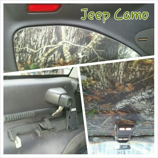 Pin By Steven Webster On It S A Jeep Thing Camo Truck Accessories Jeep Zj Camo Truck