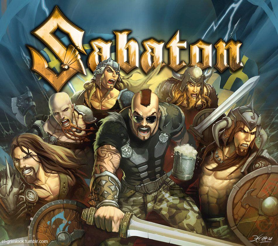 Sabaton Sabaton Album Cover Art Power Metal