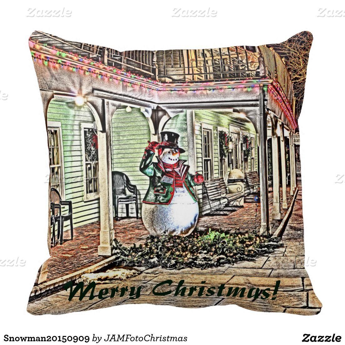 Snowman20150909 Pillows