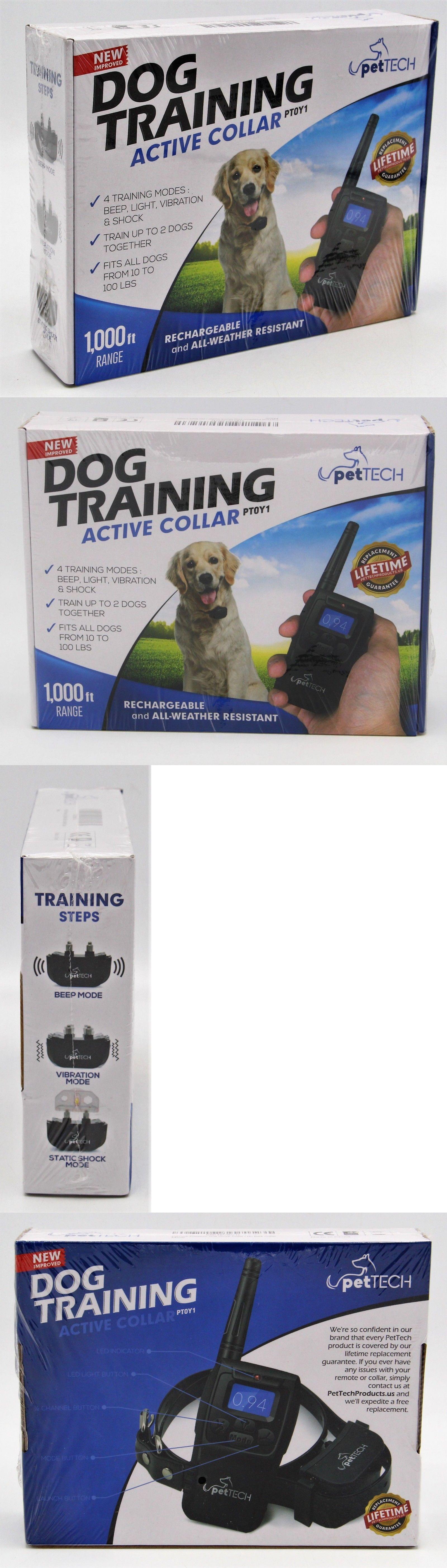 Bark Collars 66774 Pet Dog Training Collar Rechargeable Electric