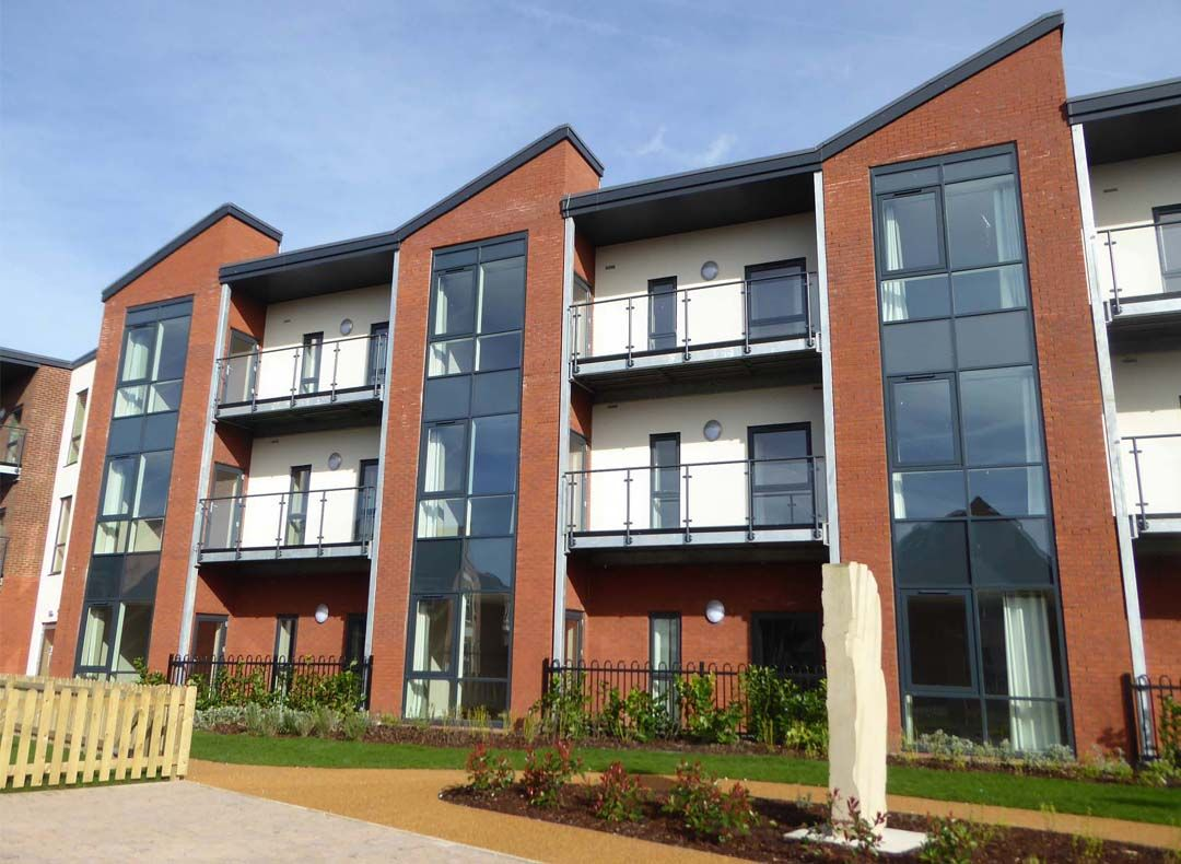 Harrison Park is the first of three Extra Care schemes to