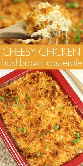 Easy Chicken Hashbrown Casserole images