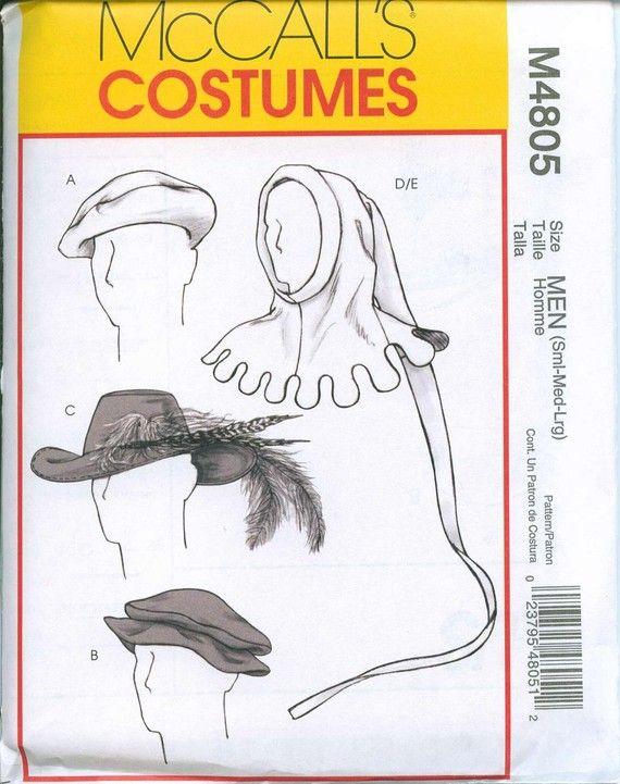 Renaissance faires hats with veils   Medieval Renaissance Hats Mens Cavalier Joker Jester Beret Sewing ...