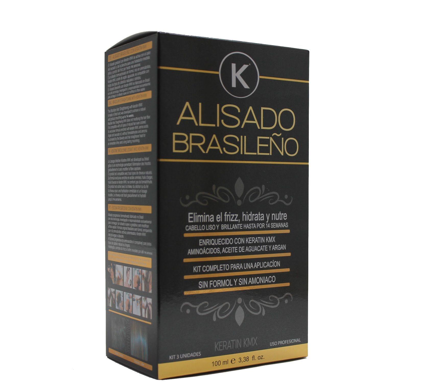 Kit Alisado Brasileno K Alisado De Cabello Alisado