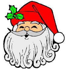 Emoticon Babbo Natale.Risultati Immagini Per Faccine Di Babbo Natale Da Stampare Babbo Natale Natale Immagini