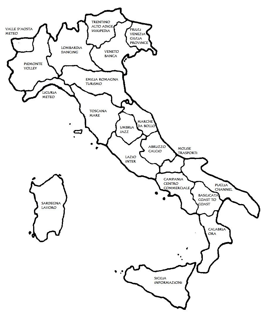 Cartina Italia Con Regioni Da Colorare.Cartina Italia Politica Da Colorare Cerca Con Google Colori Politica Schede Didattiche