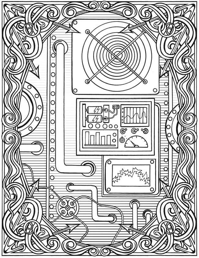 Welcome to Dover Publications Creative Haven Steampunk Devices ...