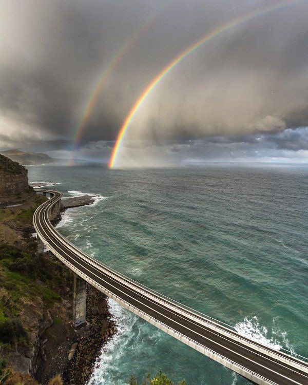@TheWorldStories : RT @EarthBeauties: Sea Cliff Bridge New South Wales Australia . https://t.co/WmQr2npGp4