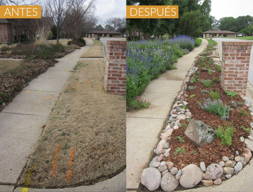 Ideas para armar un jard n en la platabanda home decor for Idea brisa vista para jardin