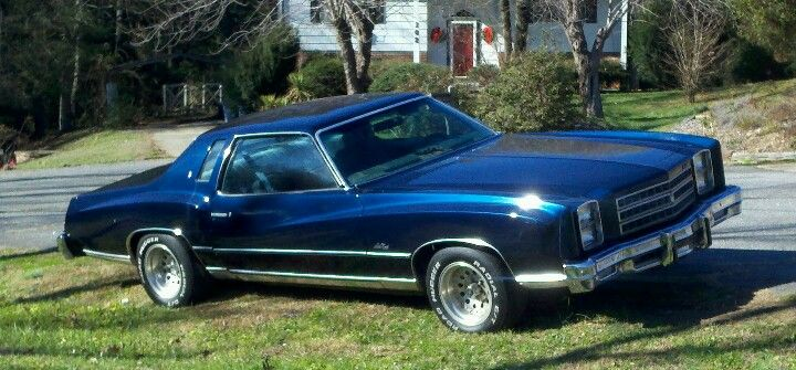My First Car A 1976 Chevrolet Monte Carlo 35 Years Later Chevrolet Monte Carlo Vintage Muscle Cars Chevy Monte Carlo