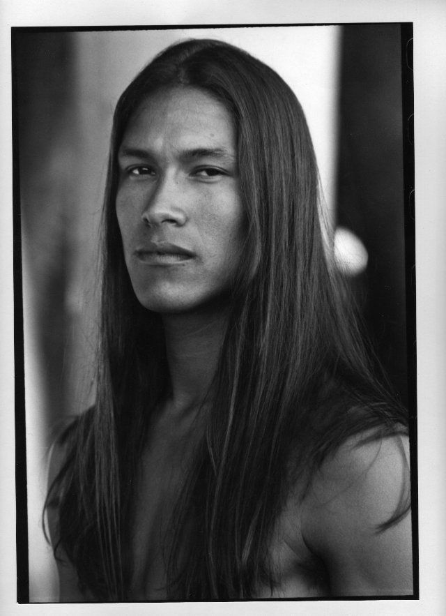 Native American Indian Model Rick Mora, Native Amer...