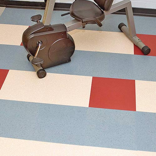 Burke Srt Gym Flooring Tile Rubber Commercial Floor Tile Spike And Skate Tile Size 36 X 36 Inch 9 S Gym Flooring Rubber Gym Flooring Tiles Rubber Tiles