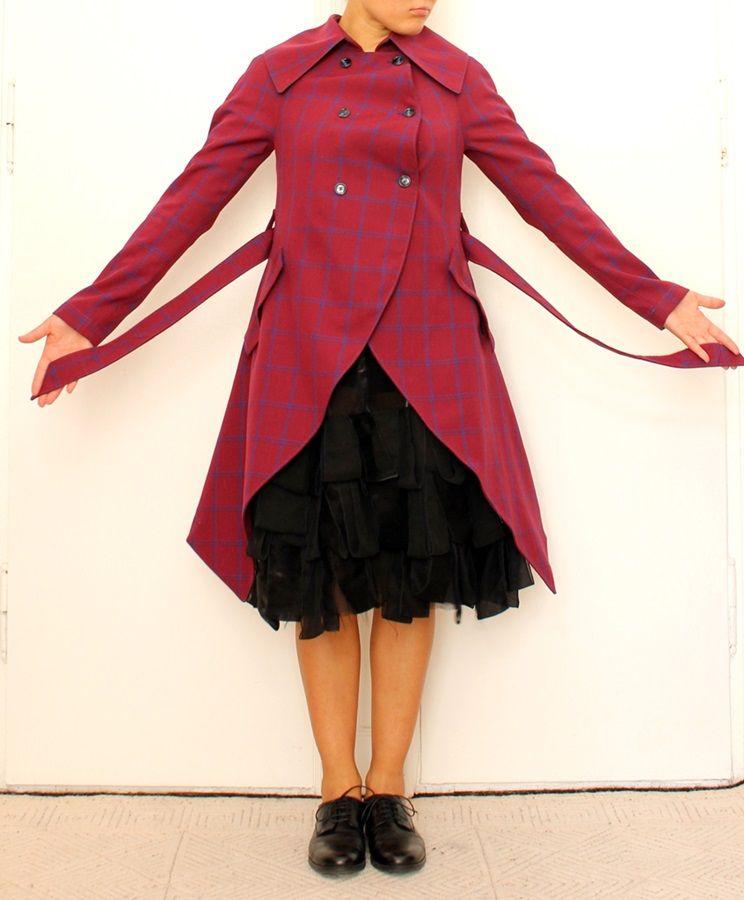 Pattern for coat ARTE | Oberteile damen, Oberteile und Damen