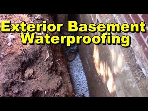 Best Basement Waterproofing Exterior How To Waterproof 400 x 300