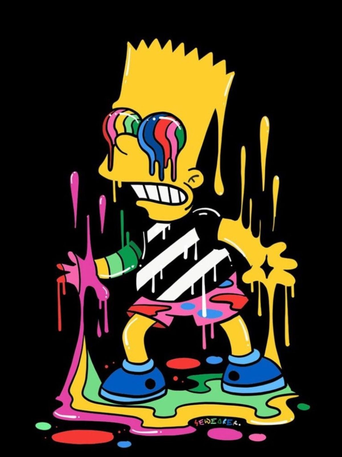 Pin By Osman Joel On Fondo De Pantalla Simpson Simpsons Art Bart Simpson Art Simpsons Drawings