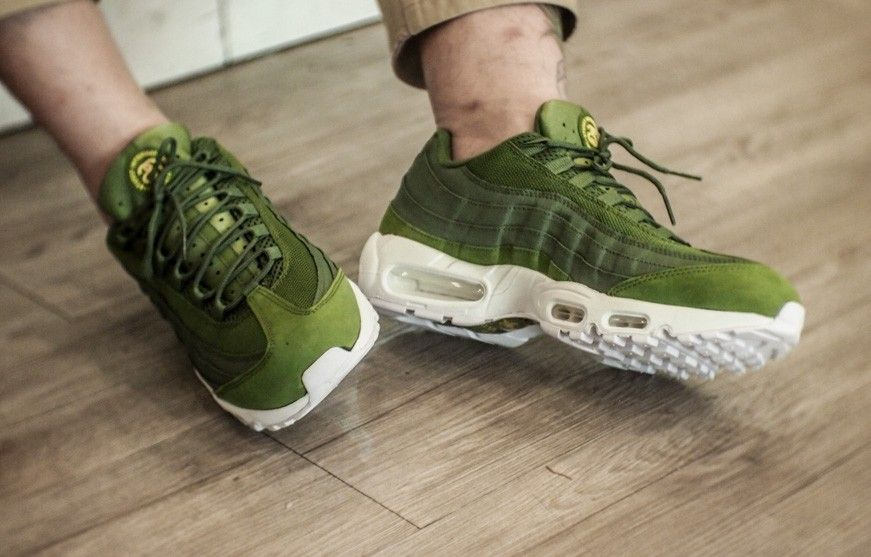 Nike Air Max 95 X Stussy Green olive
