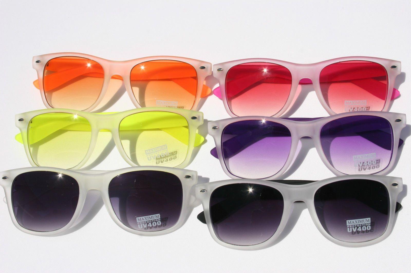 58888ed288 Classic Celebrity Style Retro Vintage Sunglasses Rubberized Frame Women Men   ebay  Fashion  celebritystyle