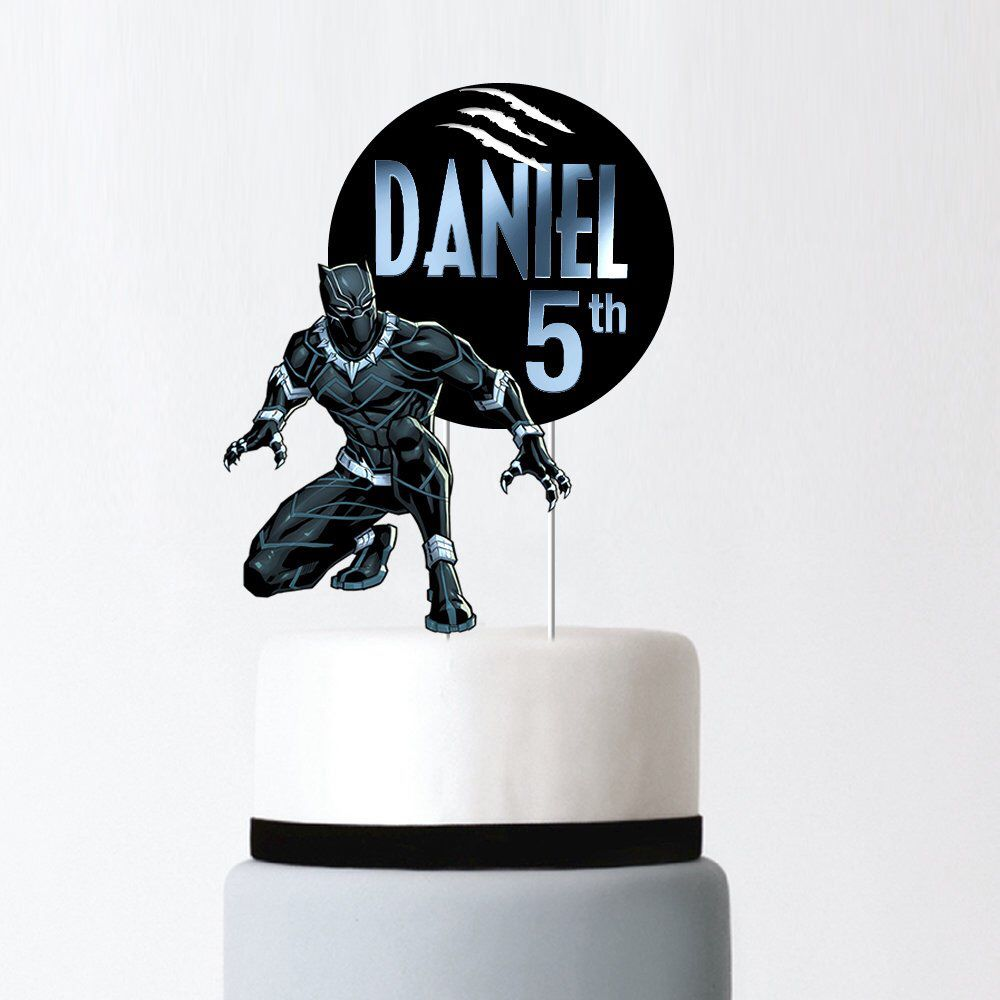 22+ Black panther birthday cake topper inspirations